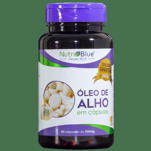 Óleo de alho Nutriblue 60 capsulas de 500mg
